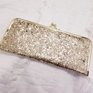 Handbags - Gold clutch wallet
